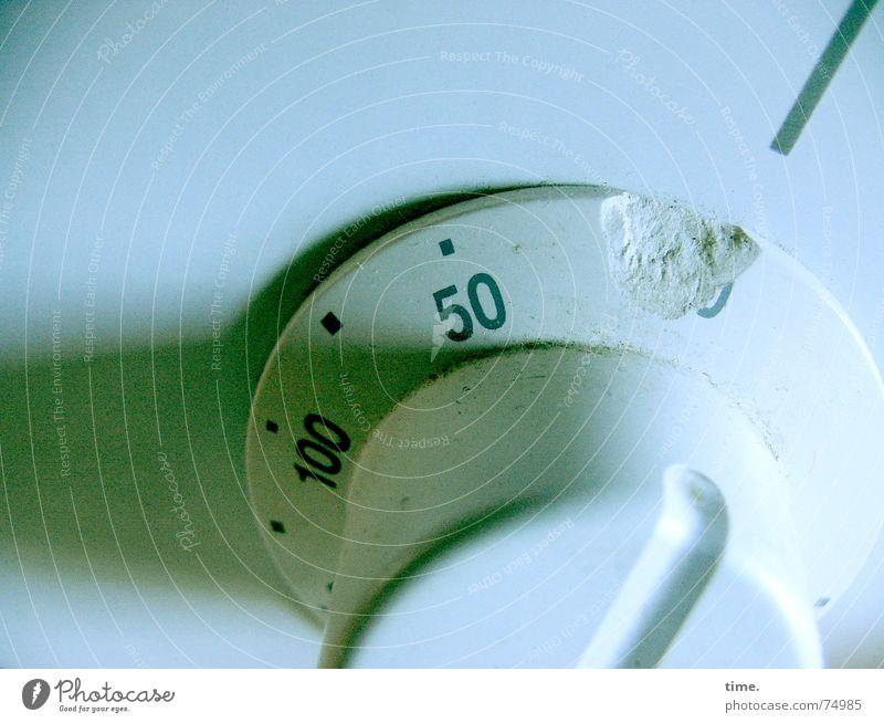 Alte Liebe grün blau springen Linie kaputt drehen Knöpfe 50 Herd & Backofen Schalter 100 Beule Tick grün-blau