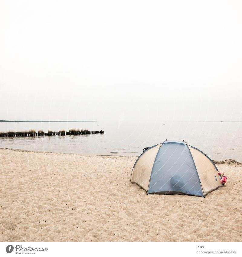 Seebad Wohlgefühl Erholung Schwimmen & Baden Freizeit & Hobby Ferien & Urlaub & Reisen Tourismus Ausflug Camping Sommer Sommerurlaub Strand Umwelt Natur