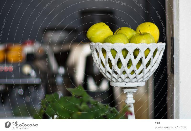 Apples.Just apples. grün Innenarchitektur Stil Gesundheit Lebensmittel Lifestyle elegant Design Frucht Dekoration & Verzierung Ernährung Pause trendy Apfel Café