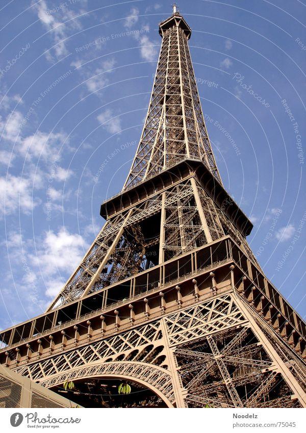 One Day In Paris Himmel Sommer Ferien & Urlaub & Reisen hoch Stahl Frankreich Tour d'Eiffel