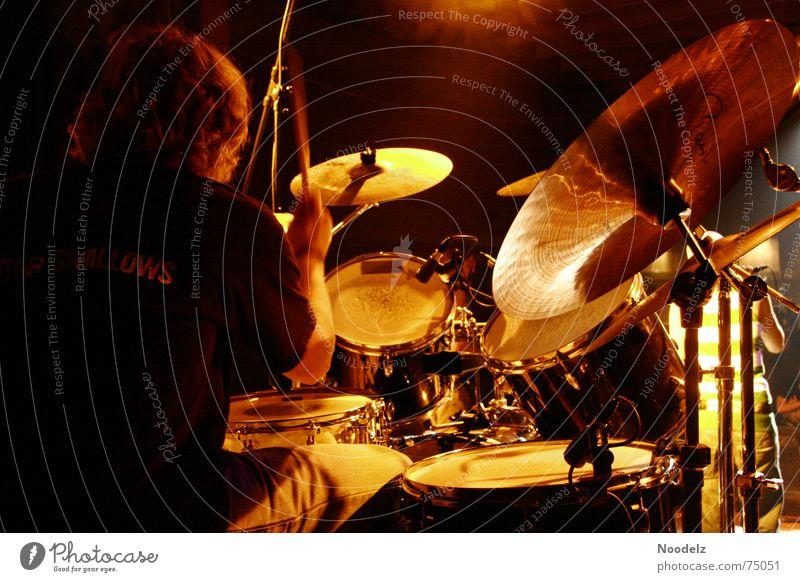 the drummer Show Konzert China Schnur Bühne Musiker Schlagzeug Becken Schlagzeuger
