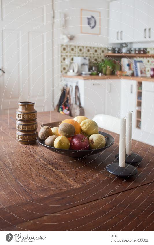 obst Innenarchitektur Lebensmittel Wohnung Häusliches Leben Frucht Dekoration & Verzierung ästhetisch Ernährung Tisch Freundlichkeit Kerze Küche Möbel