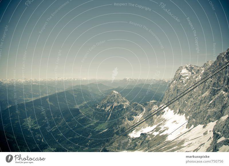 dachstein gletscher Ferien & Urlaub & Reisen Ferne Berge u. Gebirge Leben Freiheit Gesundheit Freizeit & Hobby Zufriedenheit wild Tourismus wandern Ausflug Fitness Abenteuer Gipfel Schneebedeckte Gipfel