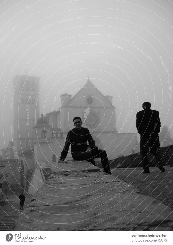 Leben in Assisi mystisch Wege & Pfade Italien alt Religion & Glaube Gefühle mood church age youth Traurigkeit
