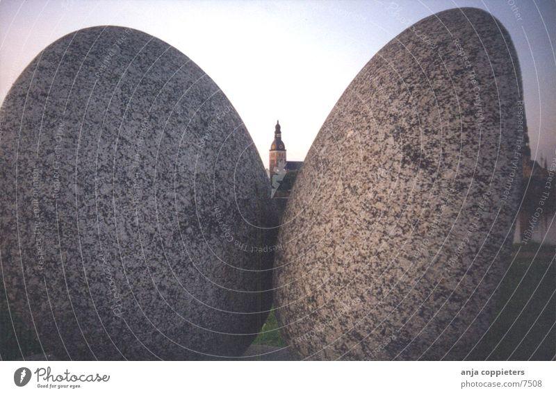 Dome Different Stein Europa Kathedrale Lettland Riga Naturstein