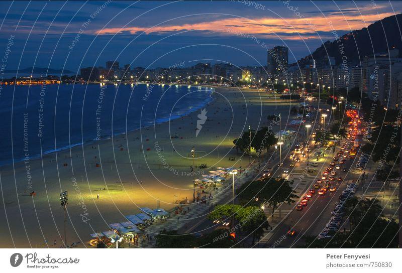Rio de Janeiro 5 Wasser Meer Strand Stimmung Bucht Amerika Sehenswürdigkeit Südamerika Nachthimmel Brasilien Rio de Janeiro Copacabana
