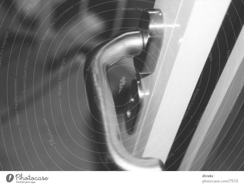 klinke Haus Griff Chrom Architektur Metall Glas