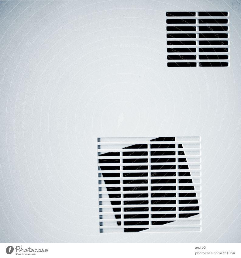 Konstrukt Ordnung einfach Technik & Technologie Neigung Kunststoff eckig Gitter Belüftungsfenster Gitterrost