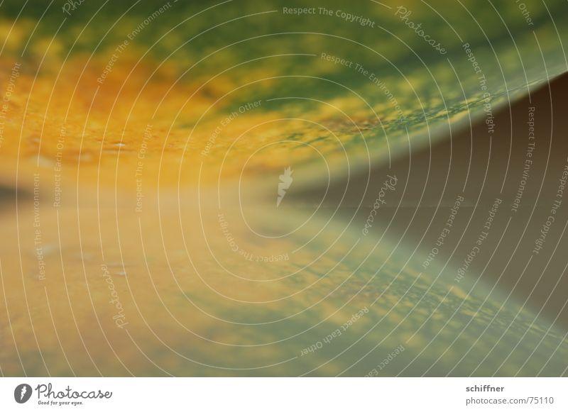 Kürbis 2 Reflexion & Spiegelung Herbst Hintergrundbild grün orange Strukturen & Formen