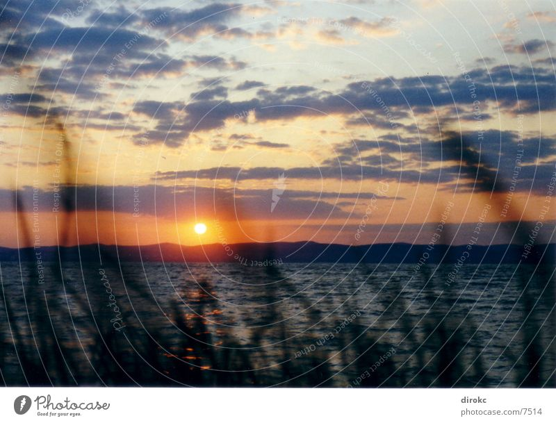 Sonnenuntegang Natur