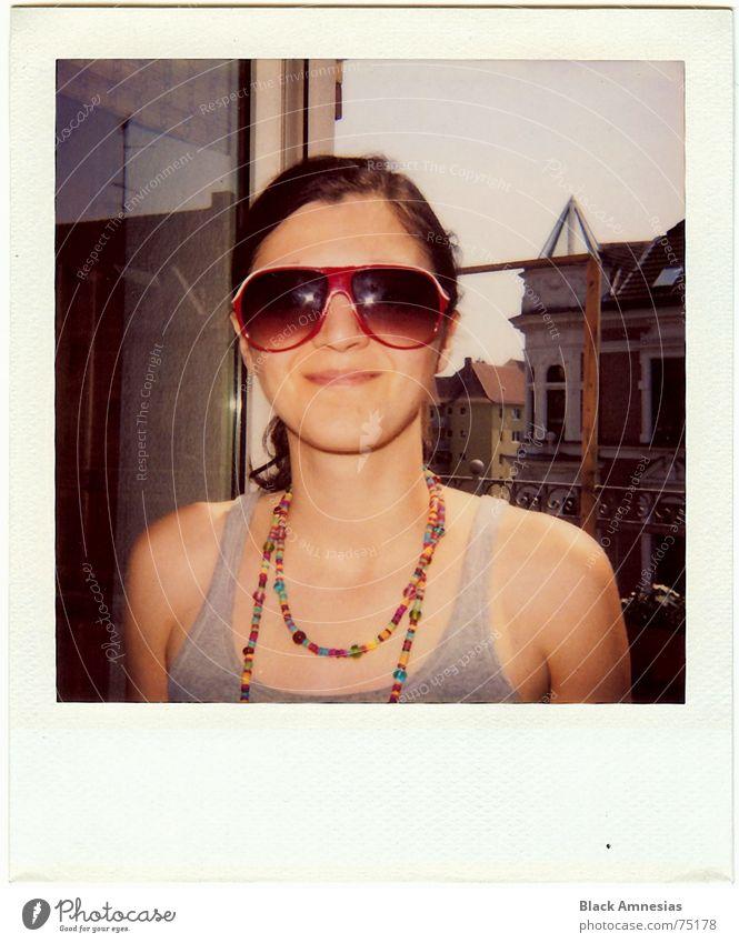 ist das maso III Sommer zurück Raum Balkon Brille Wochenende Mensch Stimmung komm moni Tür offen Wiederholung