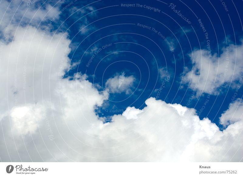 Cloud Nine schön Himmel weiß blau Sommer Wolken Freiheit Stimmung Unendlichkeit edel himmelblau
