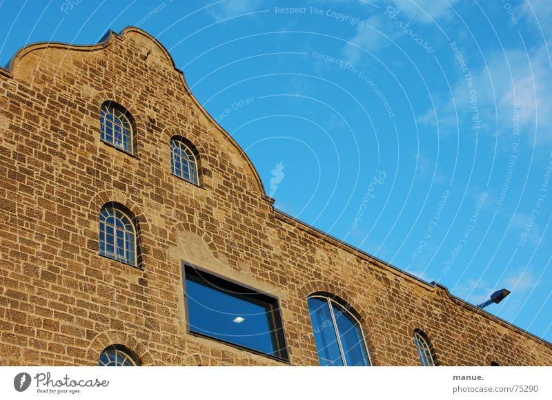Kulturspeicher Himmel Haus Wolken Fenster Gebäude Denkmal Würzburg