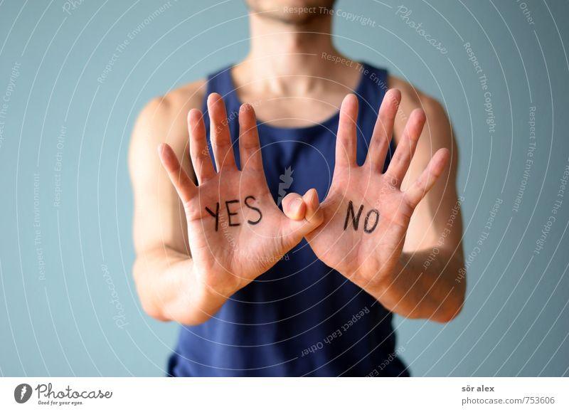 ...und DREI Mensch Mann blau Hand Erwachsene sprechen Gesundheitswesen maskulin Business Erfolg Finger Team sportlich Meinung Wirtschaft Karriere