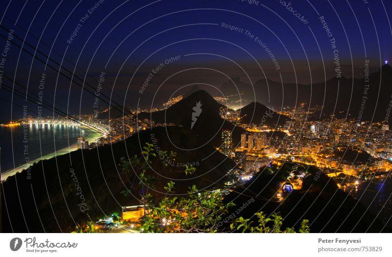 Rio de Janeiro 14 Stadt schön Landschaft ruhig Stimmung Horizont Seeufer Bucht Sehenswürdigkeit Amerika Südamerika Brasilien Copacabana