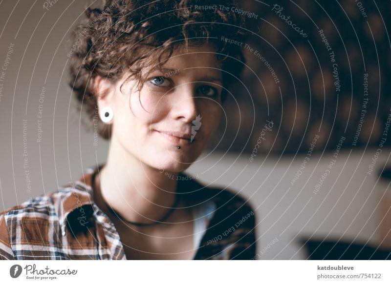 magique flanelle Gesicht Liebe Gesundheit Kopf frei Erfolg ästhetisch Fröhlichkeit Freundlichkeit einzigartig Sicherheit gut Vertrauen Glaube Hemd frech