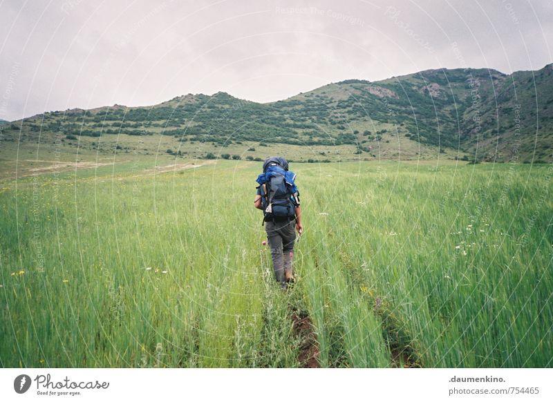 ...i... harmonisch Zufriedenheit ruhig Freizeit & Hobby Ferien & Urlaub & Reisen Ausflug Abenteuer Ferne Freiheit Expedition Camping Sommer wandern maskulin