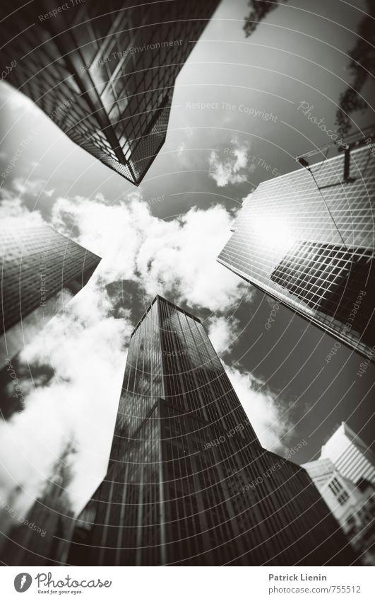 Pole Position Stadt Architektur Gebäude modern Hochhaus Energie einzigartig geheimnisvoll USA Bauwerk Bankgebäude Skyline Stadtzentrum Gesellschaft (Soziologie)