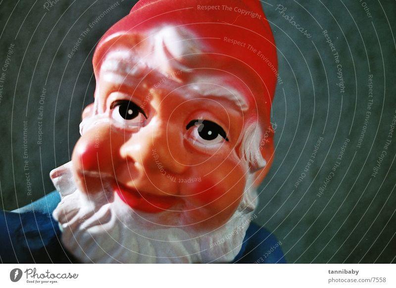 gartenzwerg herbert rot Kitsch kultig Zwerg Gartenzwerge Nikolausmütze