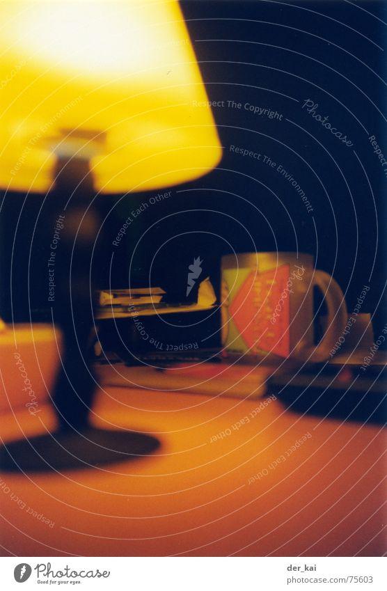 Rosa Elefant Lampe Tisch Tasse gemütlich Lomografie 1999 bestätigen