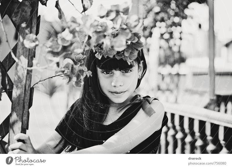 nur ein Lächeln feminin Kind Mädchen Kindheit Leben 1 Mensch 8-13 Jahre genießen Blick Coolness Freundlichkeit Fröhlichkeit frisch schön süß weich Vertrauen