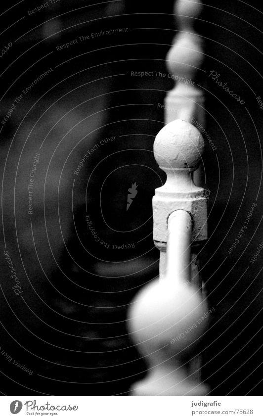 Geländer weiß schwarz Farbe Regen Linie Metall Dekoration & Verzierung Schutz Kugel Am Rand Halt Stab Lack