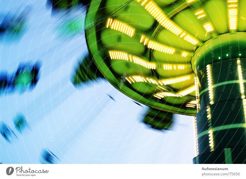 Wir drehen uns im Kreis... Karussell Jahrmarkt Fairness Abend Licht Bewegung Freude lights movements adventure joy adventure island