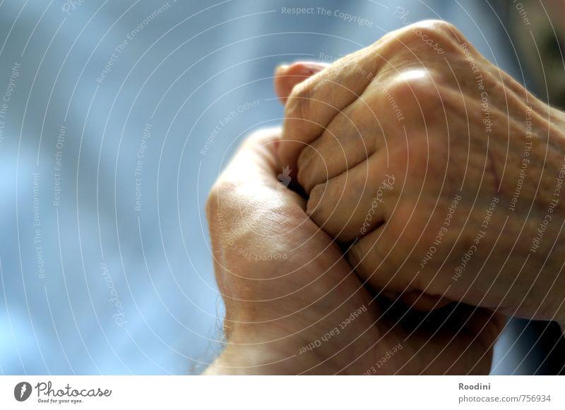 Mama Mensch Hand ruhig Erwachsene Liebe Senior Gesundheit Familie & Verwandtschaft Gesundheitswesen Freundschaft 60 und älter Haut Hilfsbereitschaft Mutter
