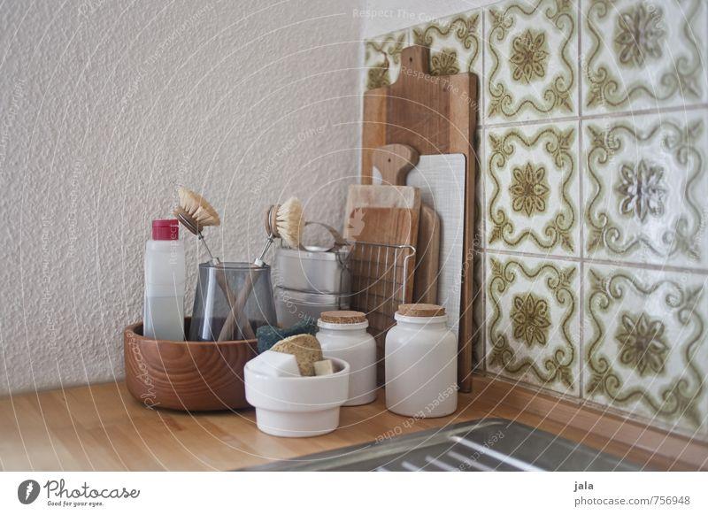 küchenecke Innenarchitektur natürlich Wohnung Häusliches Leben Dekoration & Verzierung ästhetisch einfach Küche gut Schalen & Schüsseln Behälter u. Gefäße