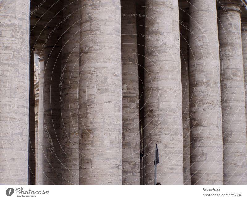 säulen meeting alt grau Stein mehrere rund einfach Italien viele Säule Rom Verlauf