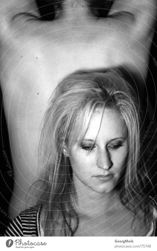 Frequently Asked Questions Frau weiß Gesicht schwarz dunkel kalt Haare & Frisuren Traurigkeit Denken Angst Arme Rücken Trauer Coolness Ecke kaputt