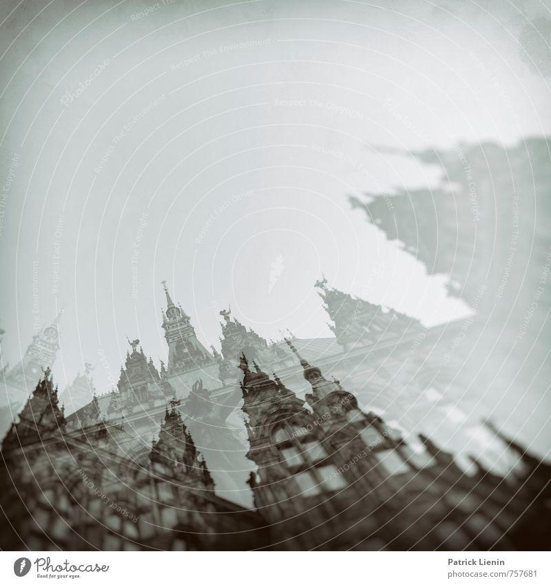 stadtangst Stadt Haus Umwelt Bewegung Architektur Gebäude träumen Luft Perspektive einzigartig Hamburg geheimnisvoll Netzwerk Todesangst Bauwerk Denkmal