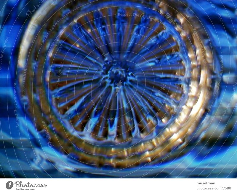 bluestrike2 Licht Fototechnik blau glass