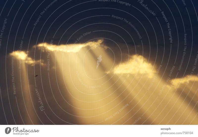 Himmelstor Wolken liberty Lichterscheinung Kumulus Lichtstrahl Lichtschweif Streiflicht Sonne Sonnenstrahlen Sonnenlicht Wolkenbild Wolkenhimmel Glaube