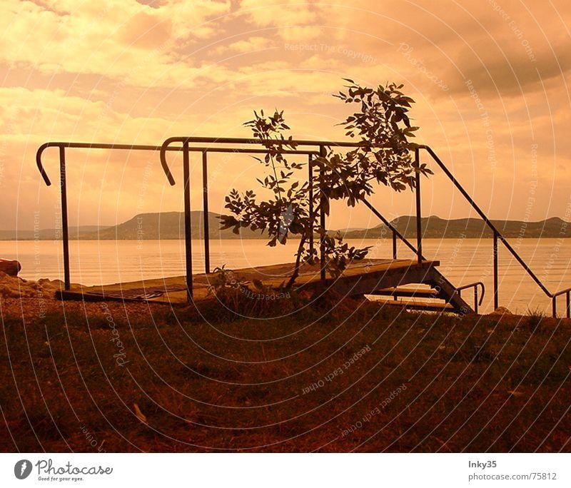 *SILENTMOTION* Natur Wasser Himmel Baum Meer rot Freude ruhig Wolken kalt Erholung Herbst Berge u. Gebirge Glück See Regen