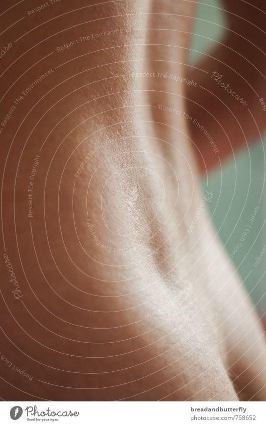 doux Mensch maskulin Junger Mann Jugendliche Erwachsene Haut Rücken 1 18-30 Jahre ästhetisch authentisch einfach nah nackt dünn schön Erotik weich Begierde rein