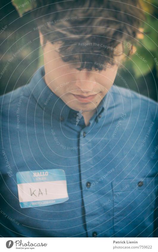 Kai Lifestyle Haare & Frisuren Leben Mensch maskulin Junger Mann Jugendliche Erwachsene Körper 1 30-45 Jahre Bekleidung brünett authentisch frech frisch