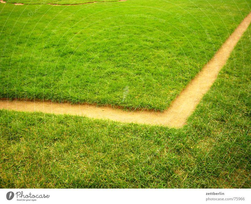 Dresdner Zwinger 1 Dresden Park Wiese Gras Gärtner Mörder Klassizismus Ecke Innenhof Rasen Gartenbau Linie Wege & Pfade