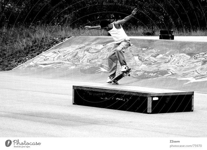 nosegrind Sommer Sport Stil springen Park Aktion Zufriedenheit Lifestyle Skateboarding Lautsprecher Trick Rutsche Funsport Spray Parkdeck Sliden