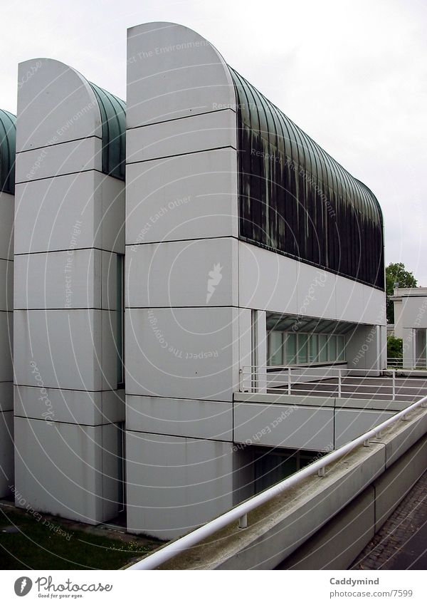 Bauhaus-Archiv 1979 Architektur Berlin modern Gropius
