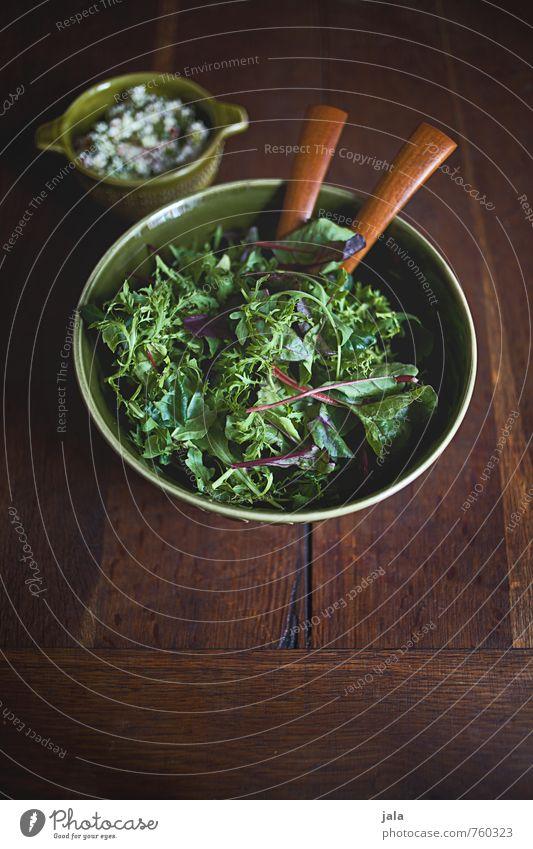 wildkräutersalat Gesunde Ernährung natürlich Lebensmittel einfach lecker Appetit & Hunger Bioprodukte Schalen & Schüsseln Abendessen Mittagessen Salat