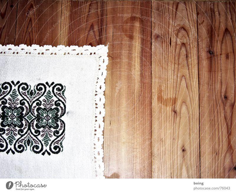 sprecht ab jetzt mit eurer Hand. Tisch Dekoration & Verzierung Café Glückwünsche Decke Spitze Haushalt Holzfußboden Biergarten Stammtisch Sticken Happy Birthday