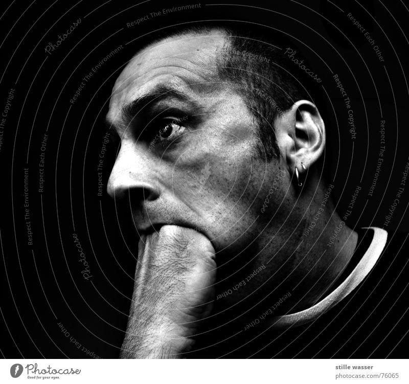FRESSSUCHT 1 Mann Hand Ernährung Mund Instant-Messaging Fragen Appetit & Hunger skurril was obskur Gier Menschenfresser