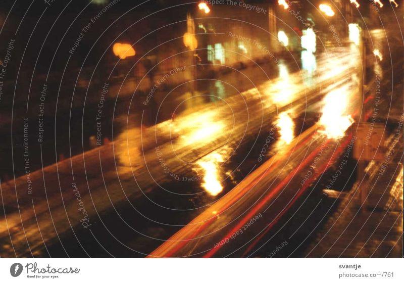 rücklicht Nacht Licht Dinge Straße