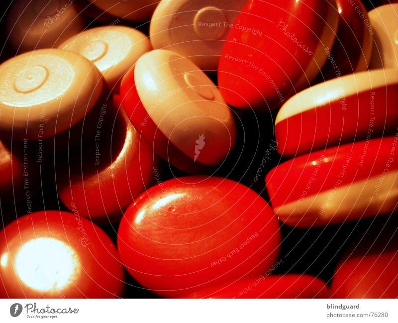 BonBon Appetit weiß rot Ernährung süß Süßwaren Bonbon Geschmackssinn
