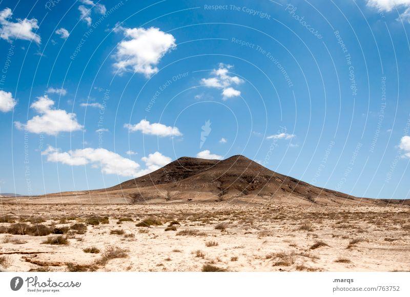 Desert Himmel Natur Ferien & Urlaub & Reisen Sommer Einsamkeit Landschaft Wolken Ferne Umwelt Freiheit Sand Sträucher Tourismus Klima Schönes Wetter Abenteuer