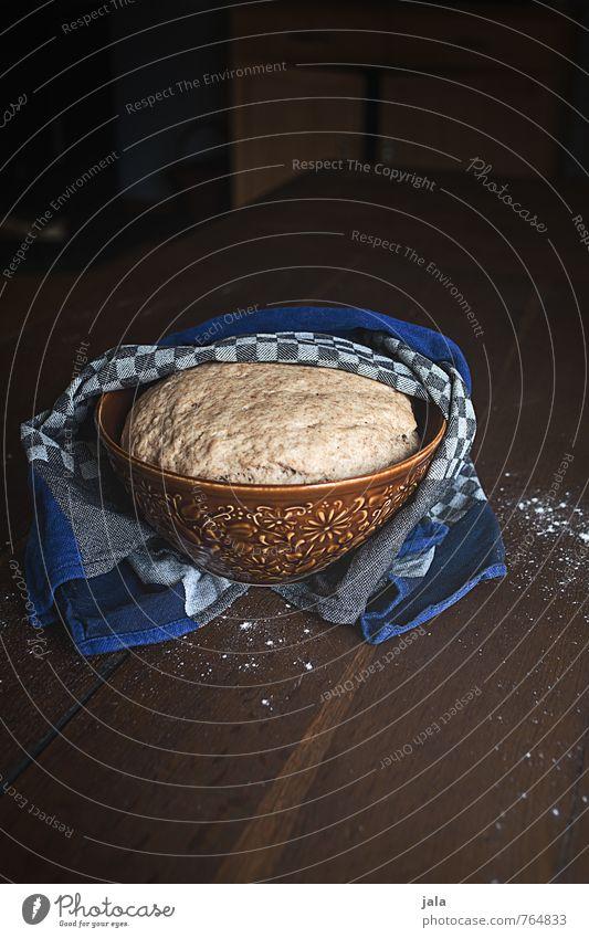 teig Lebensmittel Teigwaren Backwaren kuchenteig hefeteig Ernährung Bioprodukte Vegetarische Ernährung Slowfood Schalen & Schüsseln Handtuch Tisch Küche