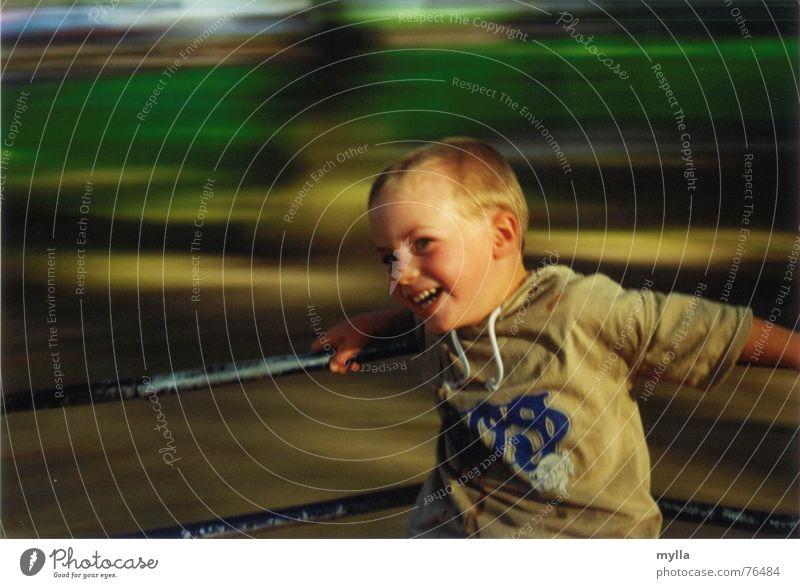 Drehrausch Kind Freude Geschwindigkeit Alkoholisiert Spielplatz Kreisel