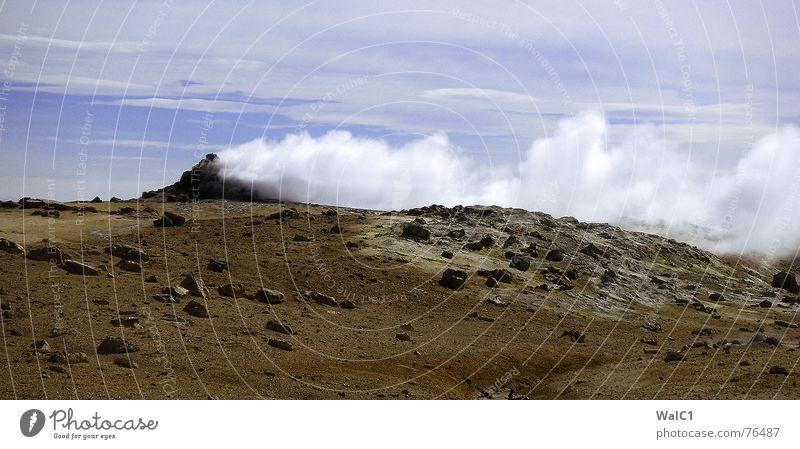 Ich brauch mein´ Rauch Natur Wasser Stein Kraft Erde Energiewirtschaft Island Gas Umweltschutz Nationalpark Lava entstehen Geröll unberührt Urzeit