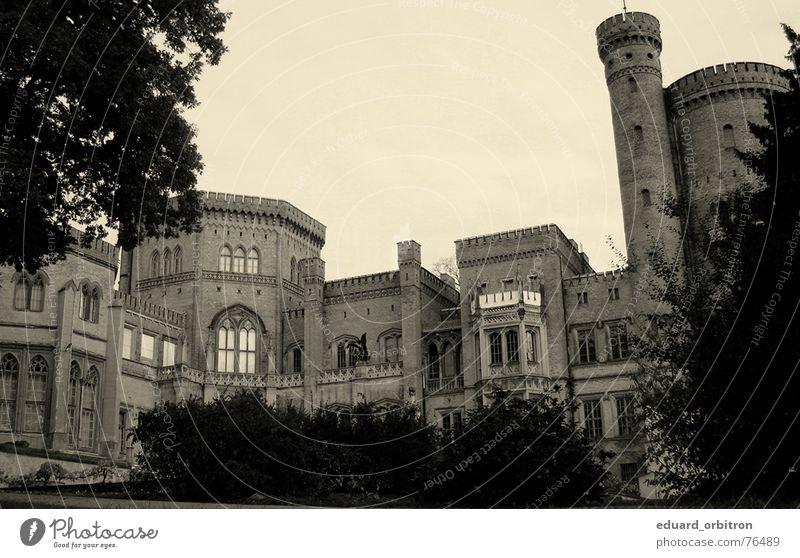 Schloss Babelsberg Reichtum Schauplatz Altertum Potsdam-Babelsberg Respekt Außenaufnahme Burg oder Schloss König Vergangenheit Ritter Deutschland Filmindustrie